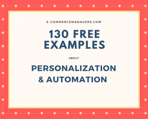 website personalization and marketing automation examples