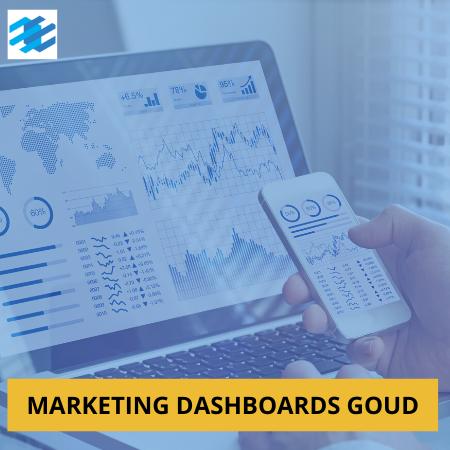 marketing dashboards vast bedrag